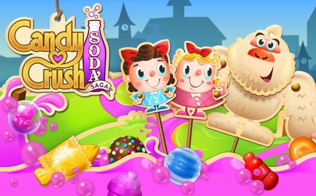 เกมระเบิดลูกอม Candy Crush Soda Saga
