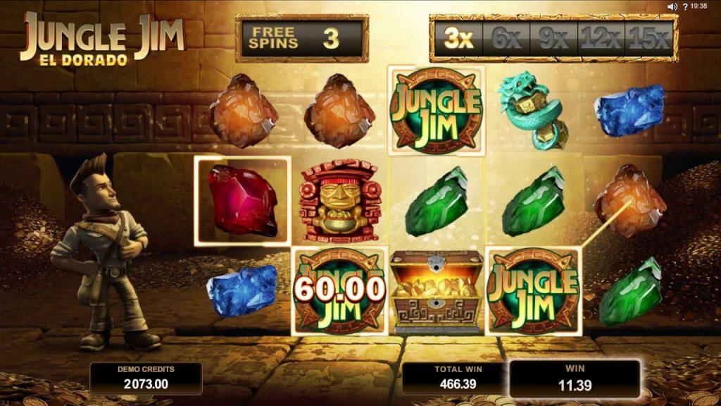 ปั่นสล็อต เกม Jungle Jim El Dorado