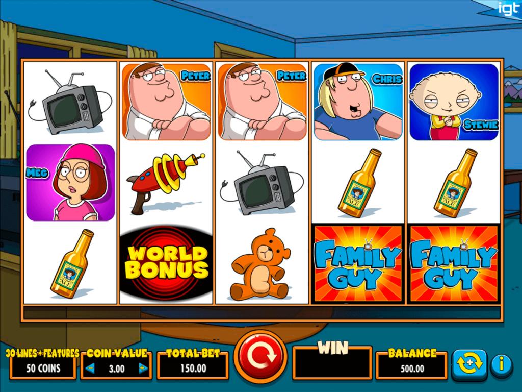 รีวิวสล็อต Family Guy